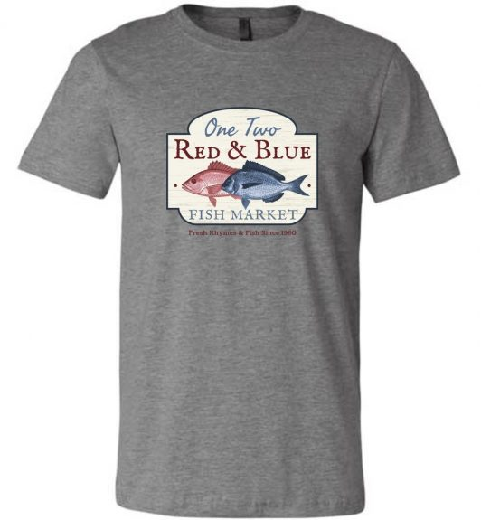 Red Fish Blue Fish T-Shirt