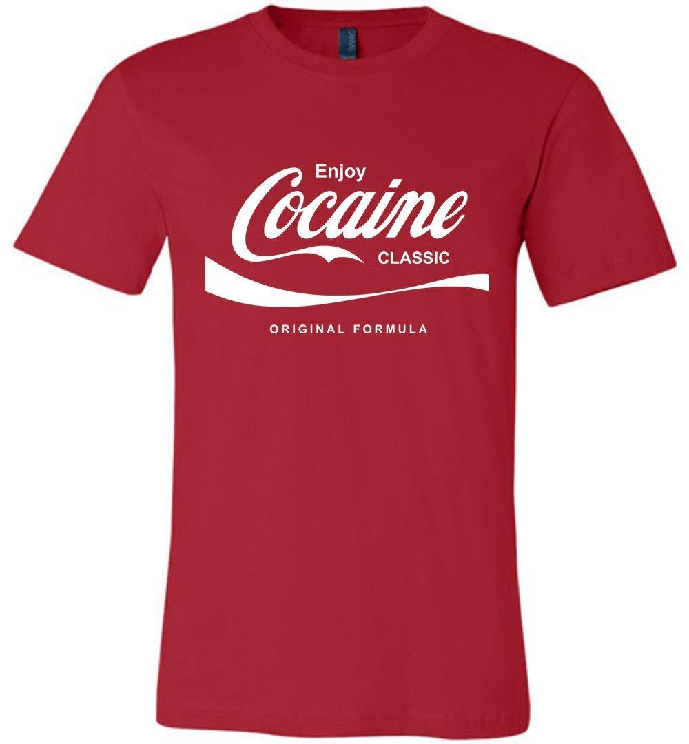 COCAINE,COKE,COLA,DRUGS,FUN T SHIRT