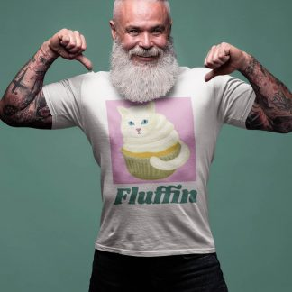 Fluffin Cute Cat Muffin T-Shirt