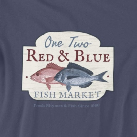 One Fish Two Fish, Red fish Blue Fish T-Shirt