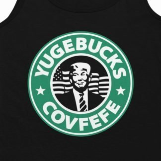 Women's Covfefe Starbucks Tank Top