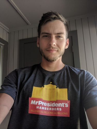 Trump Hamberders T-Shirt - Men/Unisex photo review