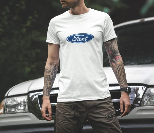 Ford Logo Shirt - Fart Parody